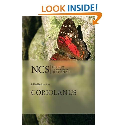 Coriolanus (The New Cambridge Shakespeare)