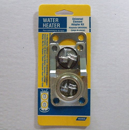 Water Heater Universal Element Adapter Kit Fits Most Models (See Listing For More Details) For Use With A Screw-In Type Element
