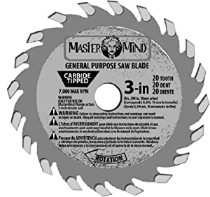 MasterMind Tools MasterMind 800345 Compact Precision 3-Inch Tungsten Carbide Tip Circular Saw Blades at Sears.com