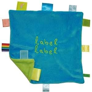 "Label-Label Schmusetuch ""Square"" - blau/grün"