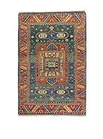Eden Carpets Alfombra Elvan Rojo/Azul 278 x 186 cm