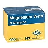 Magnesium Verla N Dragées, 200 St