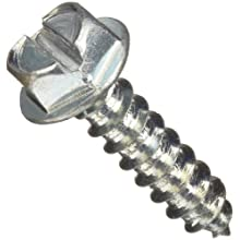 Zinc Plated Steel Sheet Metal Screw, Hex Head
