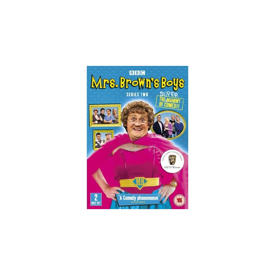 Mrs. Browns Boys (Series 2)   2 DVD Set ( Mrs. Browns Boys   Series Two ) [ NON USA FORMAT, PAL, Reg.2 Import   United Kingdom ]