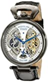 Stuhrling Original Men's 127A2.33F52 Analog Display Automatic Self Wind Black Watch