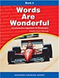 img - for Words are Wonderful Book 3: An Interactive Approach to Vocabulary book / textbook / text book
