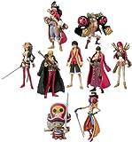 Bandai - Figurine - One Piece -Pack de 8 Trading Figures Film Z - 4543112781888