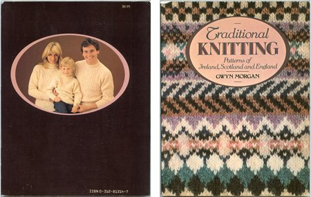 Traditional Knitting Patterns of Ireland, Scotland and England, Gwyn Morgan