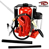 Tooluxe Tools Air Hydraulic 20 Ton Low Profile Bottle Jack