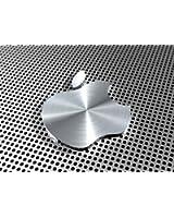 Top Banana Gifts - Logo Apple, effetto alluminio, tappetino per mouse di alta qualità