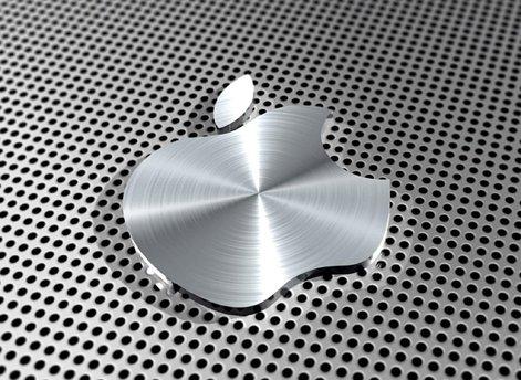 mauspad-mit-apple-logo-aluminium-optik
