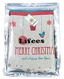 (ライフィーズ)Lifeesクッションカバー45×45cmクリスマスサンタトナカイHK003(�D)
