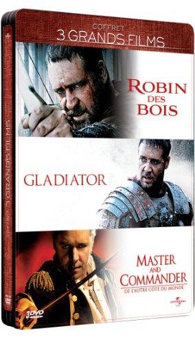 Coffret russell crowe: robin des bois ; gladiator ; master and commander [Edizione: Francia]