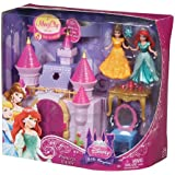 Disney Princess Little Kingdom Castle and Doll Set By Mattel