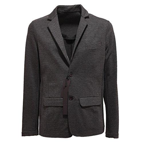 1670Q giacca GAUDI' THEME grigio melange scuro giacca uomo jacket coat men [48]