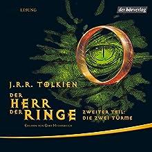 Die zwei Türme (Der Herr der Ringe 2) Hörbuch von J.R.R. Tolkien Gesprochen von: Gert Heidenreich