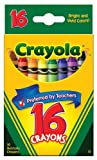 Colored Crayons- Crayons Orig 16Ct From Crayola (Part Number 52-3016)