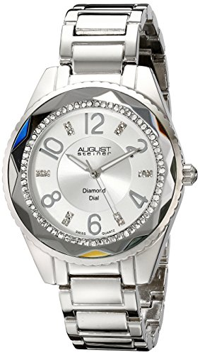August Steiner Women's Diamond and Crystal-Accented Watch