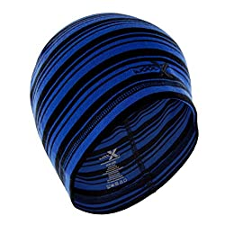 Woolx Unisex Heavyweight Hats - Cobalt Stripe