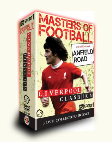 Masters Of Football Liverpool Classics 3 DVD BOX SET