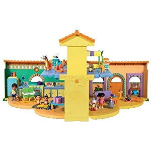 Dora Explorer: Dora's Talking Dollhouse w/Lights, Sounds, Music & Diego, Boots, Swiper