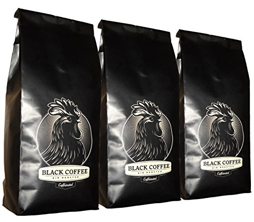 Black Coffee La - Extra Dark (3-Pack) - 12Oz Bag Of Whole Bean Coffee - Los Angeles, California - Air Roasters