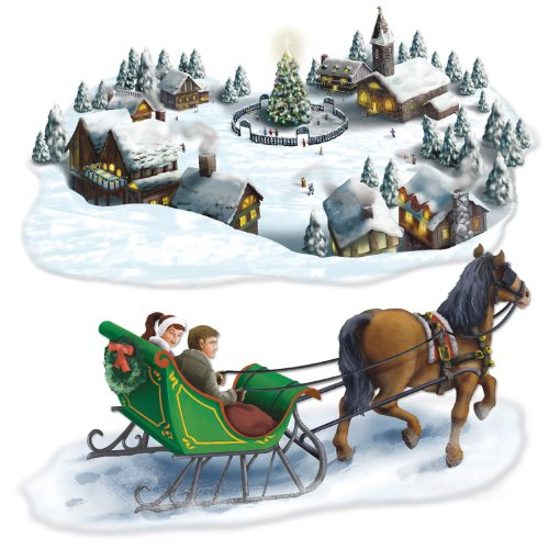 Holiday Village & Sleigh Ride Props Party Accessory (1 count) (2/Pkg)