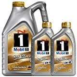 Mobil 1 0W-40 New Life Fully Synthetic Engine Oil 149015 7L