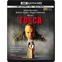 Puccini: Tosca [4K Ultra HD + Blu-ray]