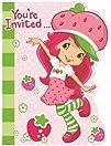 Strawberry Shortcake Invitations  8 Count