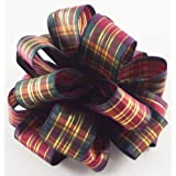 Offray Fire Wired Edge Ribbon, 1 1/2