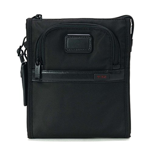 (トゥミ)TUMI 022110 D2 Alpha2 Ballistic Travel Pocket Bag Small/ポケットバッグ スモール BLACK/ブラック [並行輸入品]