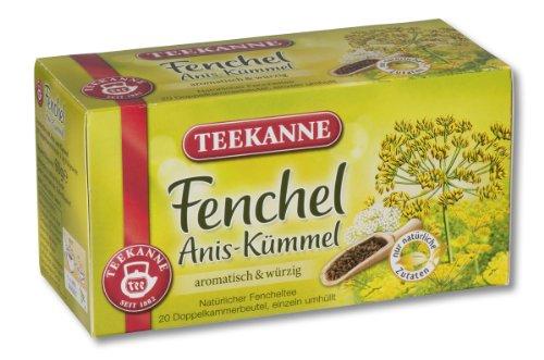 Teekanne Fenchel-Anis-Kümmel 20 Beutel, 4er Pack (4 x 60 g...