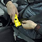BEST DEALS - Car Tool With Hammer, Led Flashlight, Safety Belt Cutter, Magnet Surface & Torch