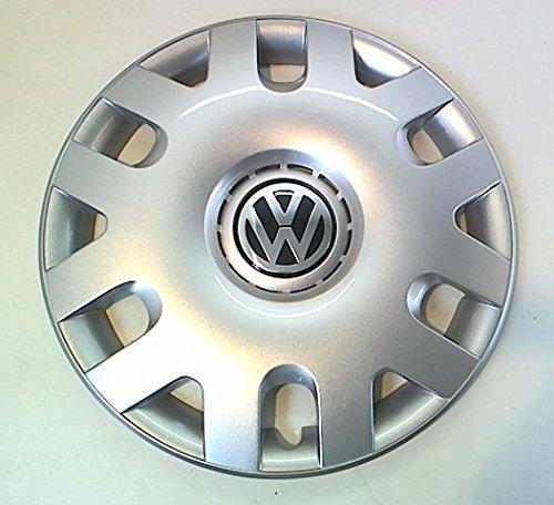 "VW Polo 38,10 cm (15"") 6Q0601147N-Copricerchi in acciaio, nuova"