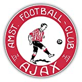 Ajax FC Amsterdam Europe Soccer Football Vinyl Sticker 5 X 5 inches