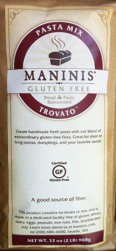 MANINIS Ancient Grains Gluten Free Trovato Pasta Mix (2lb bag)