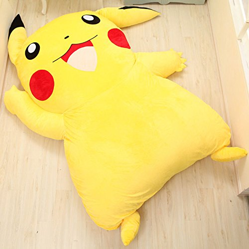 new-cute-huge-giant-filled-pikachu-bed-carpet-tatami-mattress-sofa-great-gift