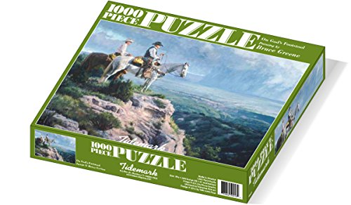 On God's Footstool - 1000pc Jigsaw Puzzle - 1