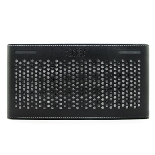 Co2Crea (Tm) Black Pu Leather Case Bag Cover Sleeve Bumper Protective Skin For Bose Soundllink Iii 3 Bluetooth Wireless Mobile Speaker