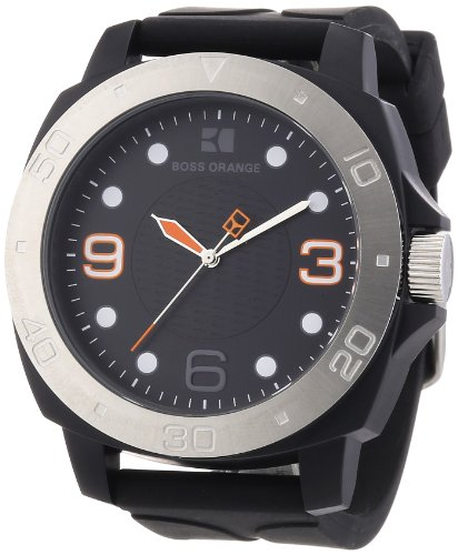 Boss Orange Gents Rubber Strap Watch 1512664