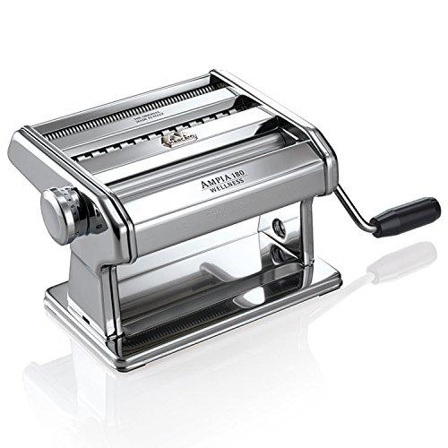 Marcato 180C Ampia Compact Machine à Pâtes Acier Gris