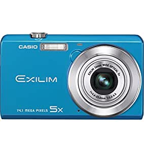 Casio EX-ZS10 - Cámara Digital Compacta, 14.5 MP (2.7 pulgadas, 5x Zoom óptico) - Azul