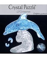 3D crystal puzzle - dolphin- random colours