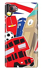 The Fappy Store london-town Plastic Back Cover for Lenovo K920