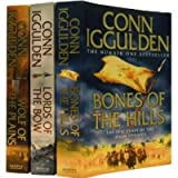 Conn Iggulden Conqueror Series 3 Books Set Collection RRP : 22.97 ( Wolf of the Plains, Lords of the Bow, Bones of the Hills: The Epic Story of the great Conqueror )(Conn Iggulden (Conqueror)) Conn Iggulden