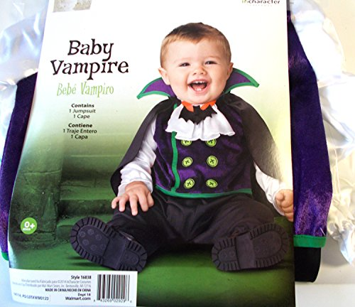 [Baby Vampire Child Infant Costume 6-12M NIP] (Kmart Costumes For Babies)