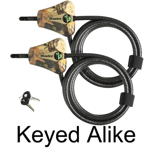 Find Bargain Master Lock – Python Trail Camera Adjustable Camouflage Cable Locks 8418KA-2 CAMO