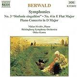 Berwald - Symphonies Nos. 3 & 4, Piano Concerto.