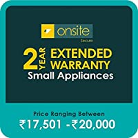Onsite Secure 2 Year Extended Warranty for Small Appliances (Rs 17501 - 20000)